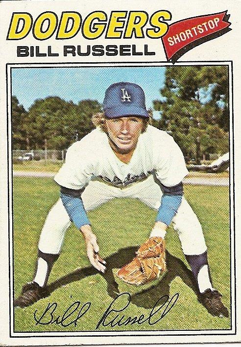Bill Russell (baseball) Bill Russell Cardboard Gods