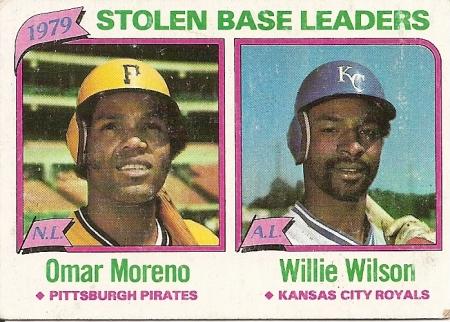 Stolen Base Leaders 1979